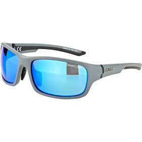 Alpina Lyron S Okulary, cool grey matt-black/blue mirror